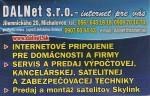 DALNet s.r.o.- internet pre vás