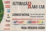 Autobazár Michalovce - Miešanie farieb - Rako Car